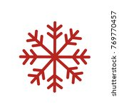 flat christmas ornaments icon... | Shutterstock .eps vector #769770457