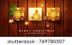 vector illustration for merry... | Shutterstock .eps vector #769780507