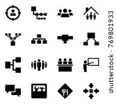 origami style icon set   target ... | Shutterstock .eps vector #769801933