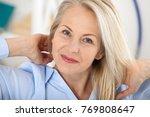 modern businesswoman. beautiful ... | Shutterstock . vector #769808647