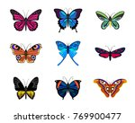 various types of realistic... | Shutterstock .eps vector #769900477