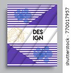 cover design template with... | Shutterstock .eps vector #770017957