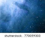 deep space star field. universe ... | Shutterstock . vector #770059303