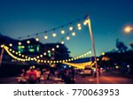 abstract blurred image of night ... | Shutterstock . vector #770063953