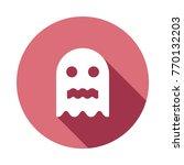 boo circle flat | Shutterstock .eps vector #770132203