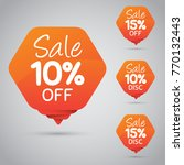 10  15  sale  disc  off on... | Shutterstock .eps vector #770132443