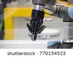 industry 4.0 robot concept .the ... | Shutterstock . vector #770154523
