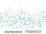 light blue  green vector... | Shutterstock .eps vector #770205727