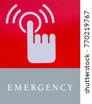 Small photo of Emergency Call Urgent Accidental Hotline Paramedic Concept