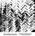 black and white braided basket... | Shutterstock .eps vector #770220037