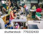 kanchanaburi  thailand   july...   Shutterstock . vector #770232433