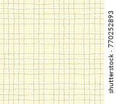 linear seamless vector pattern. ... | Shutterstock .eps vector #770252893