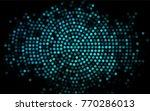 dark blue vector red pattern of ...   Shutterstock .eps vector #770286013