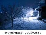 outdoor winter in armenia ... | Shutterstock . vector #770292553