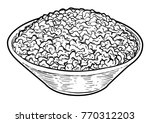 minced meat illustration ... | Shutterstock .eps vector #770312203