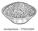 minced meat illustration ... | Shutterstock .eps vector #770312203