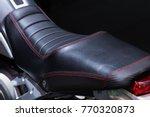 motorcycle seat.big bike seat.   Shutterstock . vector #770320873