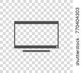 tv screen vector icon | Shutterstock .eps vector #770404303