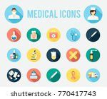 medical tools and equipment ...   Shutterstock . vector #770417743