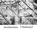 grunge black and white pattern. ... | Shutterstock . vector #770444167
