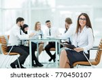leading lawyer of the company... | Shutterstock . vector #770450107