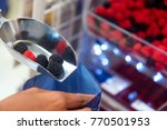 buying sweets in the... | Shutterstock . vector #770501953