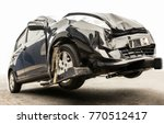 rescue vehicle service on... | Shutterstock . vector #770512417