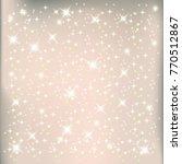 christmas background. sparkling ...   Shutterstock .eps vector #770512867