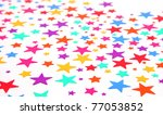 colorful stars and pencils | Shutterstock . vector #77053852