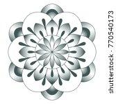 decorative element. vector... | Shutterstock .eps vector #770540173