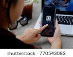 chiang mai thailand   dec 08 ... | Shutterstock . vector #770543083