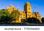 an exotic  antique style castle ... | Shutterstock . vector #770546683