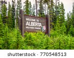 Welcome To Alberta   Wild Rose...