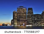 hdr view of manhattan skyline... | Shutterstock . vector #770588197