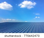 roof and sky with clouds | Shutterstock . vector #770642473