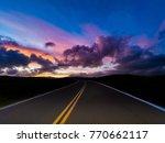 country scenic roads   Shutterstock . vector #770662117