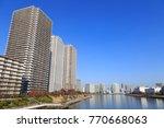 chuo  tokyo  japan november 29  ... | Shutterstock . vector #770668063