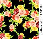 abstract elegance seamless... | Shutterstock . vector #770684437