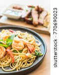 Stir Fried Spicy Spaghetti Wit...