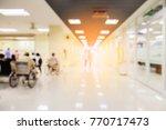 blur image background  of... | Shutterstock . vector #770717473
