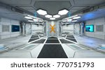 3d cg rendering of the space... | Shutterstock . vector #770751793