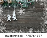 christmas and new year's... | Shutterstock . vector #770764897