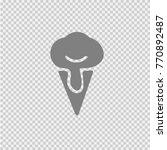 icecream vector icon eps 10.... | Shutterstock .eps vector #770892487