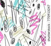mindless permanent marker... | Shutterstock .eps vector #770913247