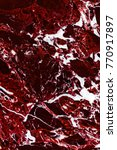 close up of marble burgundy... | Shutterstock . vector #770917897