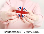 the flag of great britain ... | Shutterstock . vector #770926303
