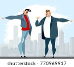 vector illustration of a... | Shutterstock .eps vector #770969917