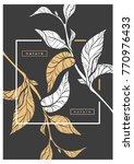vector template of tea busch...