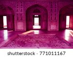agra fort  most viewed tourist... | Shutterstock . vector #771011167