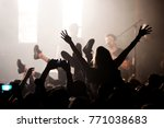 barcelona   jun 4  the crowd in ... | Shutterstock . vector #771038683